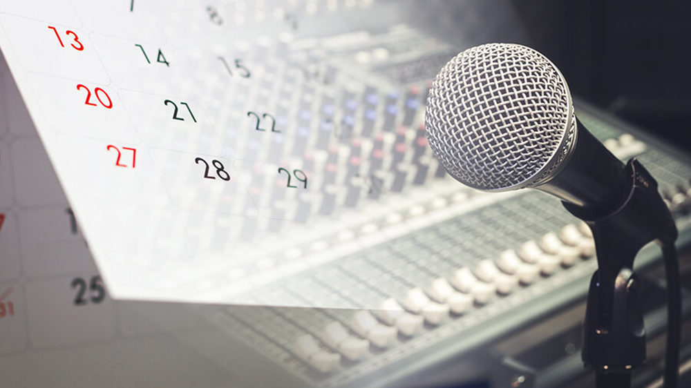 how to build a good program schedule for your online radio
